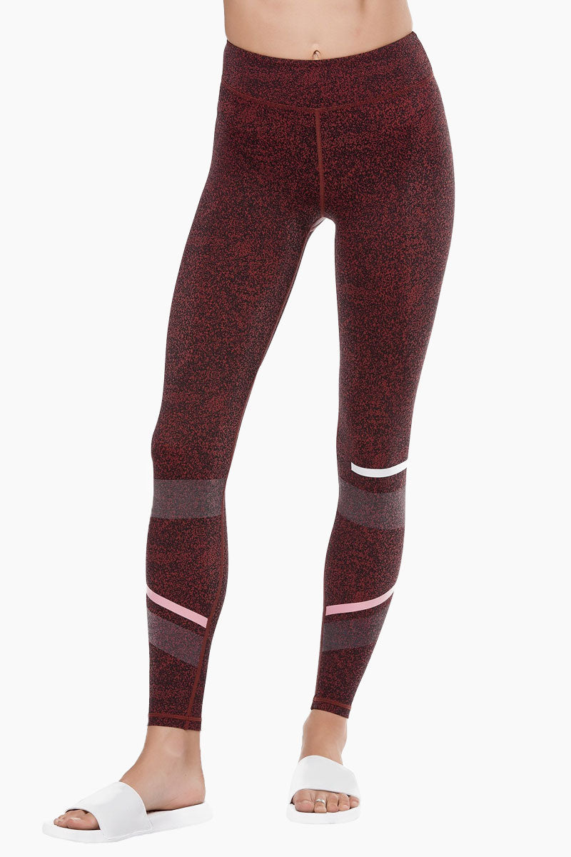 Gemma Leggings - Burnt Red