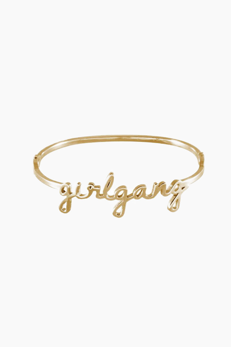 Girlgang Bangle - Gold