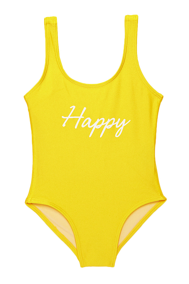 Happy Yellow Happy One Piece