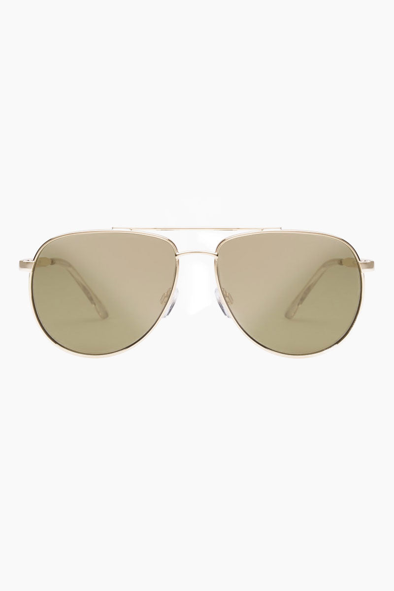 Hard Knock Sunglasses - Bright Gold/Khaki