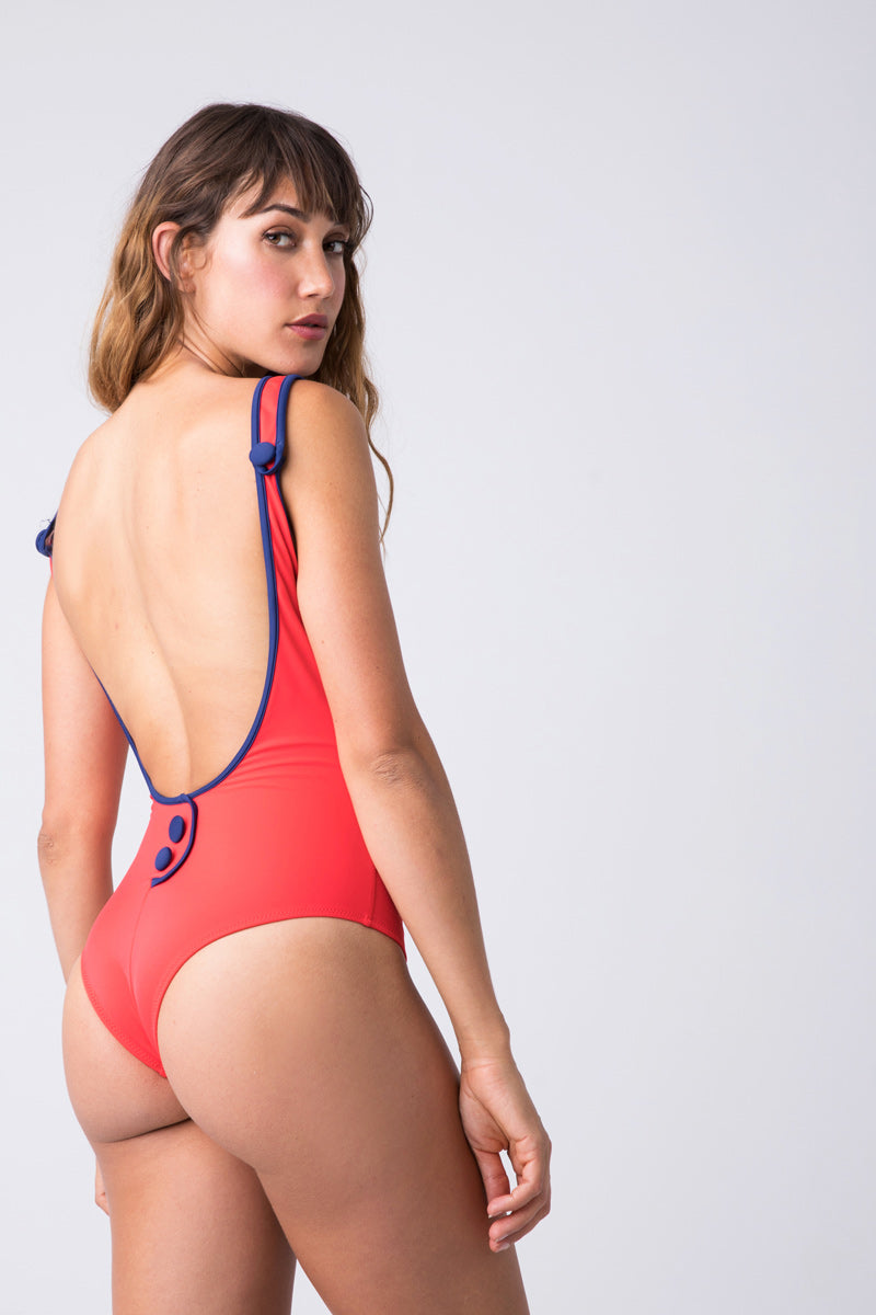e4300d46ada20 ... SOLID & STRIPED The Harlow Scoop Neck One Piece Swimsuit - Harlow Red -  undefined undefined