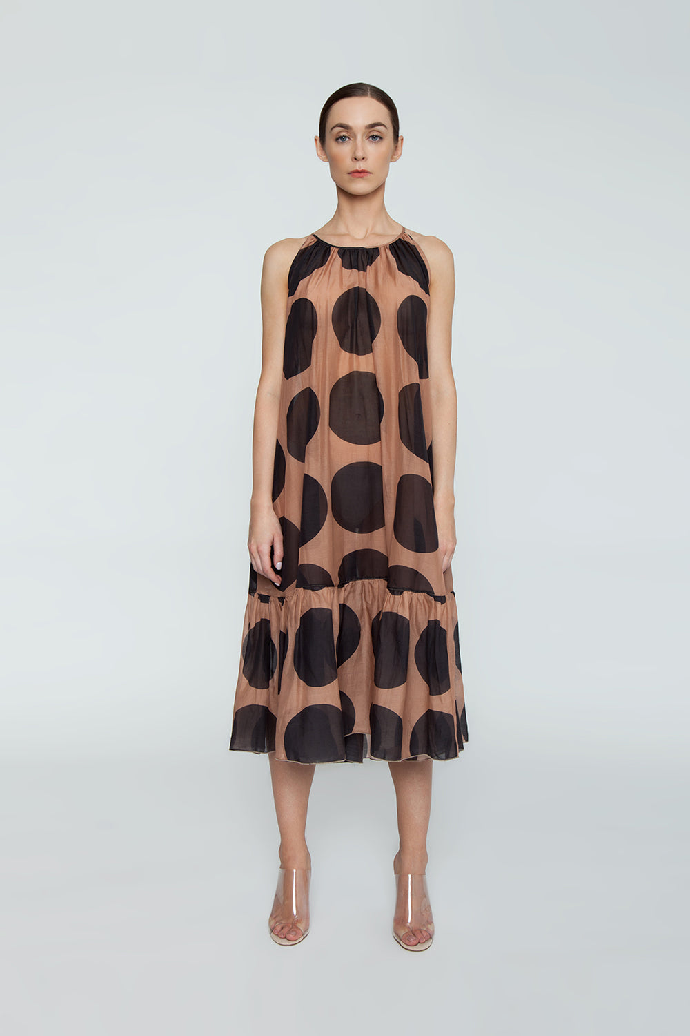 546857491b ... STELLA MCCARTNEY Ballet Spaghetti Strap Cover-Up Maxi Dress - Ballet  Dots Print - undefined