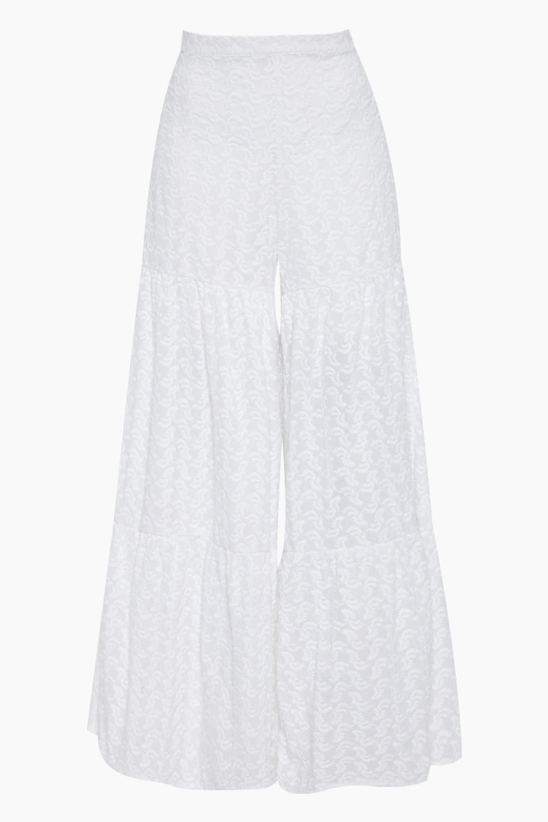 Maui Flowy Pants - White