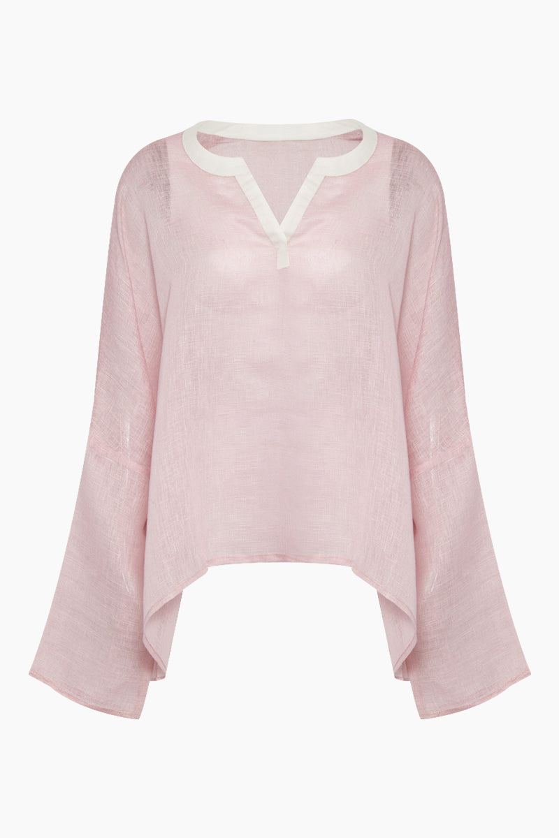 Banus Oversized Top - Light Purple