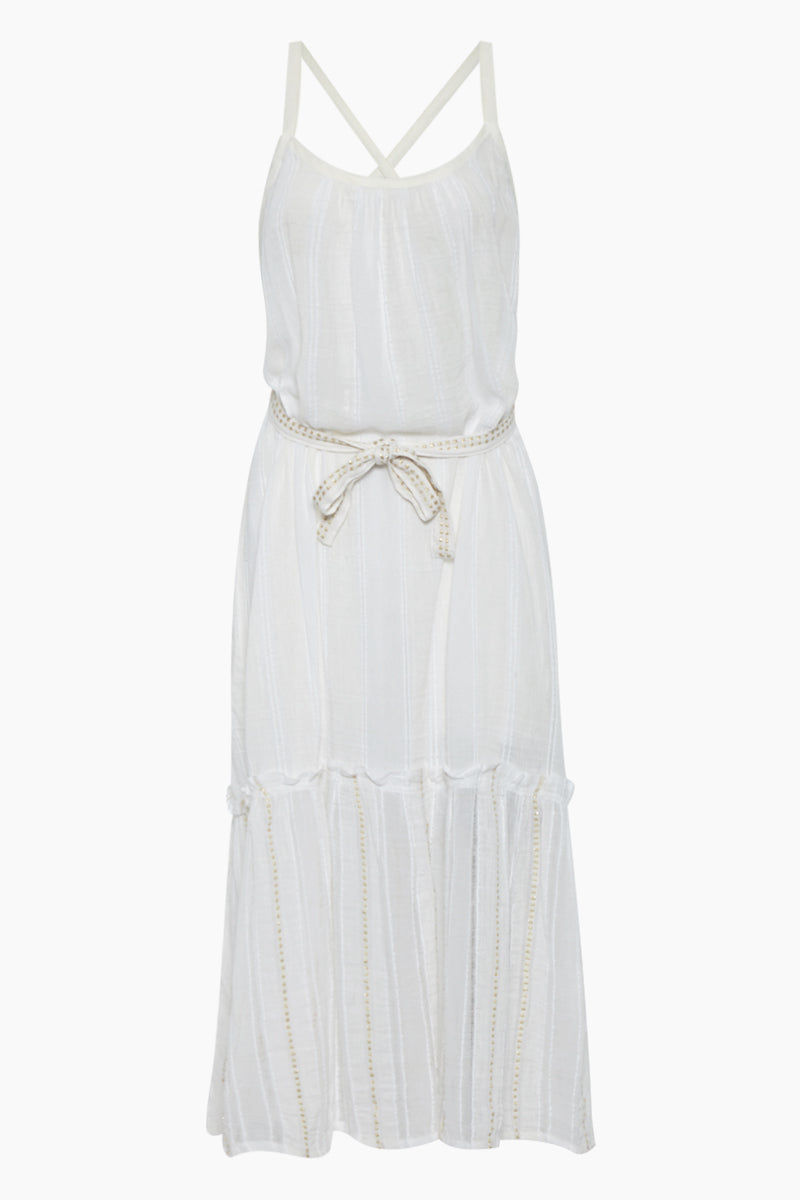 Kelali Sun Maxi Dress - White