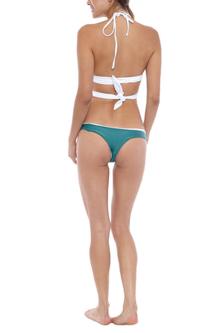 IPANEMA Reversible Thick Band Triangle Top Bikini Top | Seagull/White| IPANEMA Reversible Thich Band Triangle Bikini Top