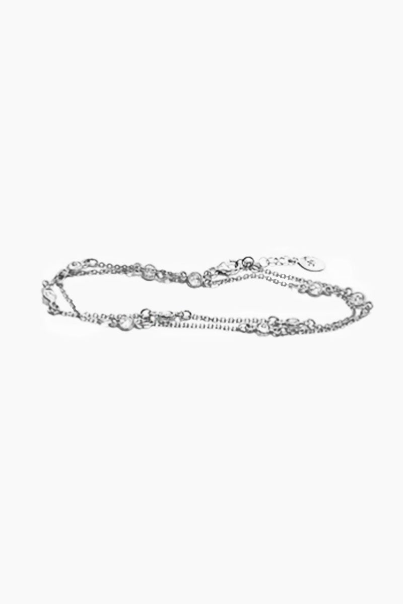 Indio Wrap Anklet/ Necklace - Silver