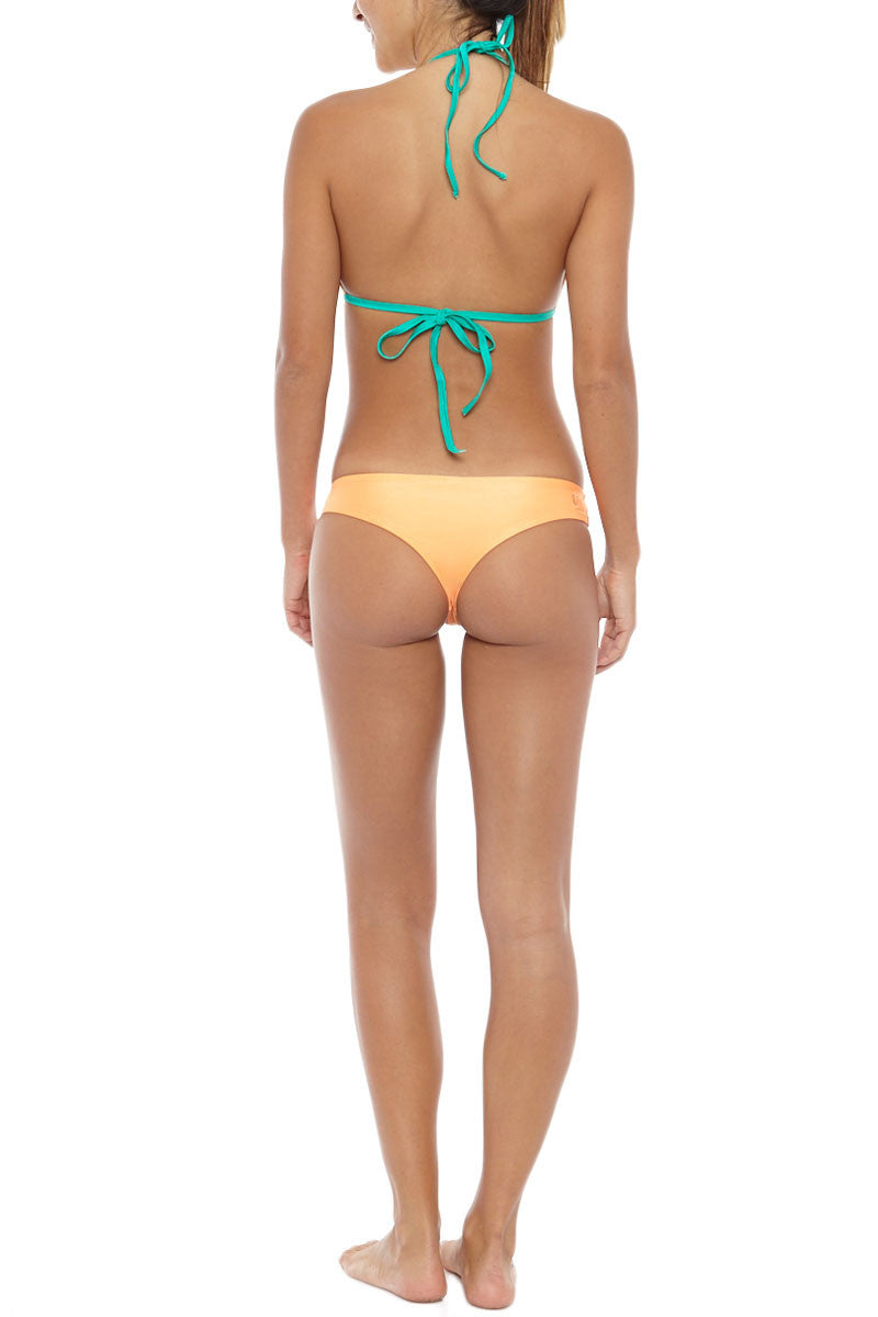 Offshore Hipster Cheeky Bikini Bottom - Tang Orange