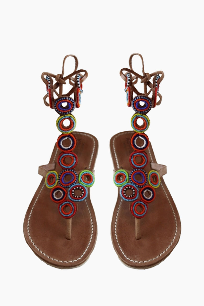Kalifi Sandals - Multicolor