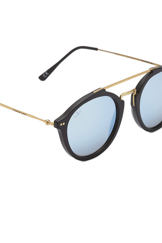 KAPTEN AND SON Fitzroy Sunglasses Accessories | Black/Blue| Kapten and Son Fitzroy Sunglasses