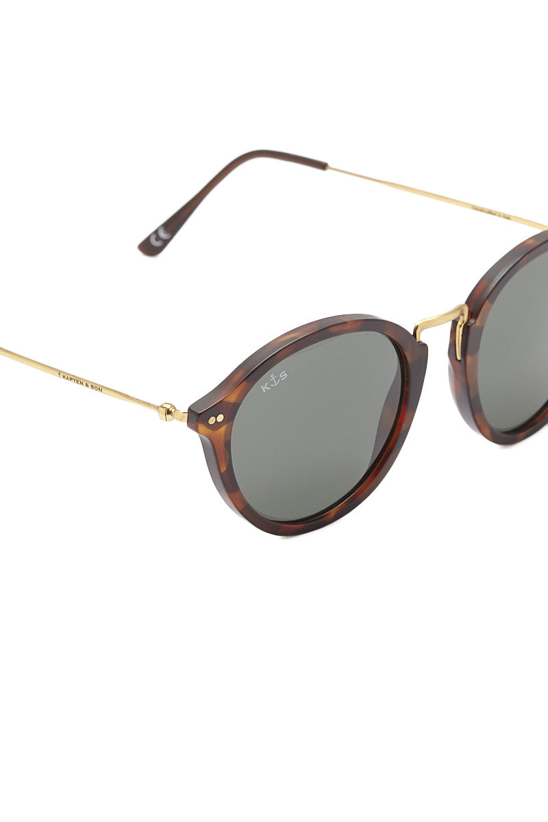 KAPTEN AND SON Maui Sunglasses Accessories   Tortoise/Green  Kapten and Son Maui Sunglasses