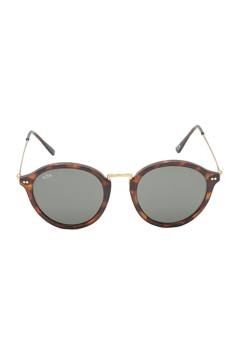 KAPTEN AND SON Maui Sunglasses Accessories | Tortoise/Green| Kapten and Son Maui Sunglasses