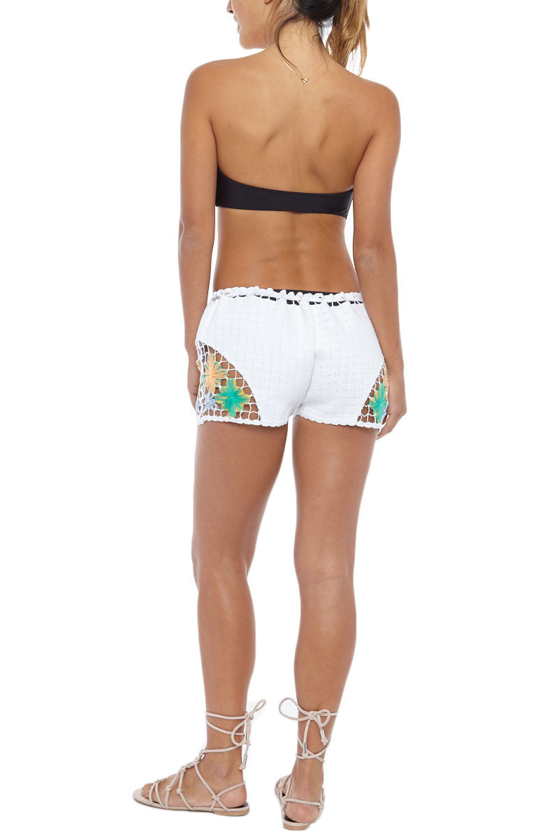 KOVEY High Tide Shorts Cover Up | White|Kovey High Tide Shorts