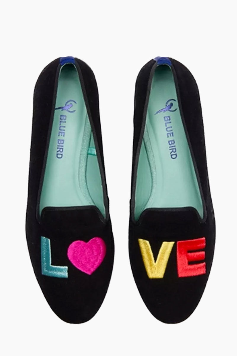 Rainbow Love Loafer - Black