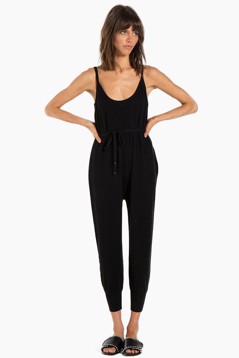 Lake Haram Jumpsuit - Black Cat