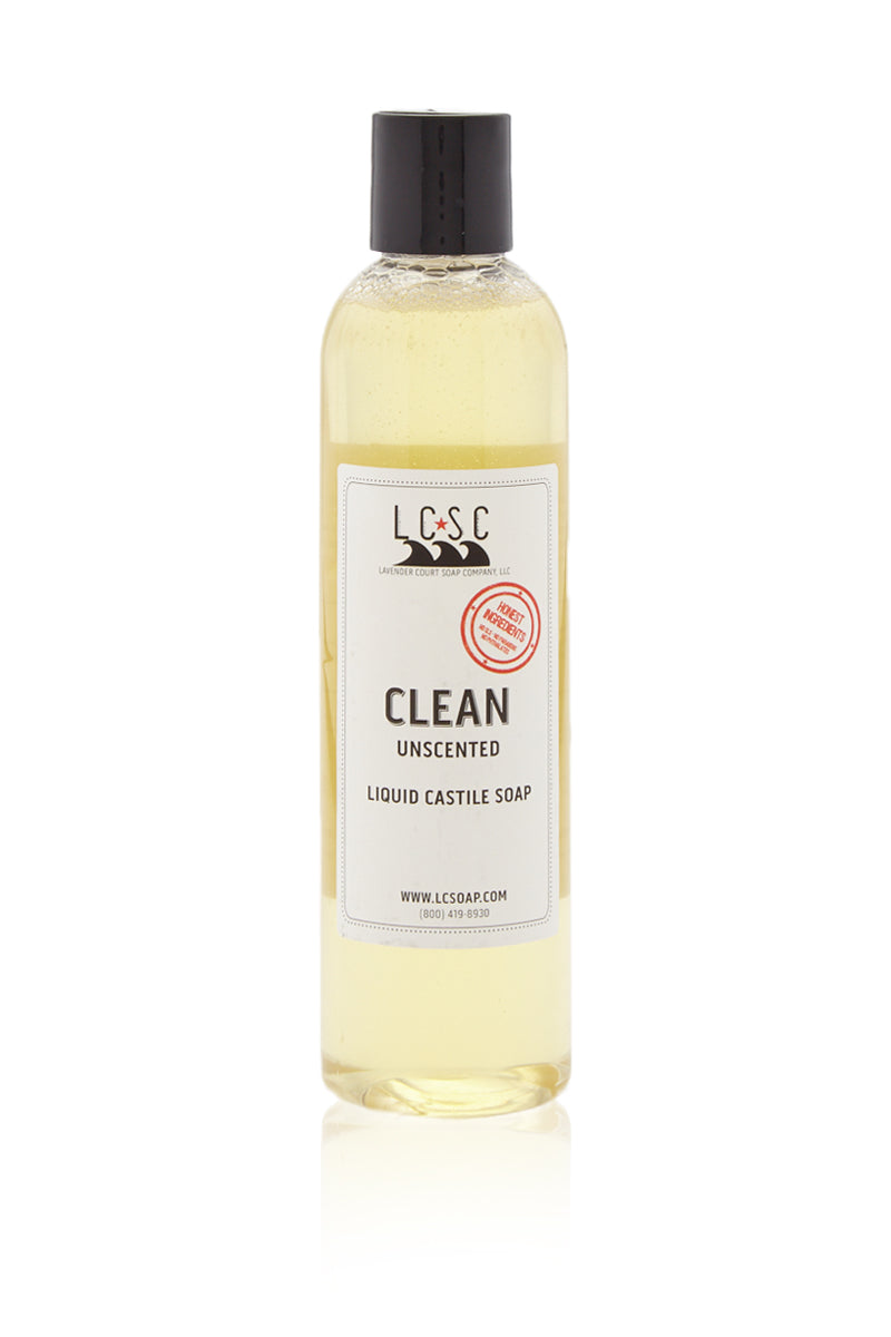 Clean Unscented Castile Soap