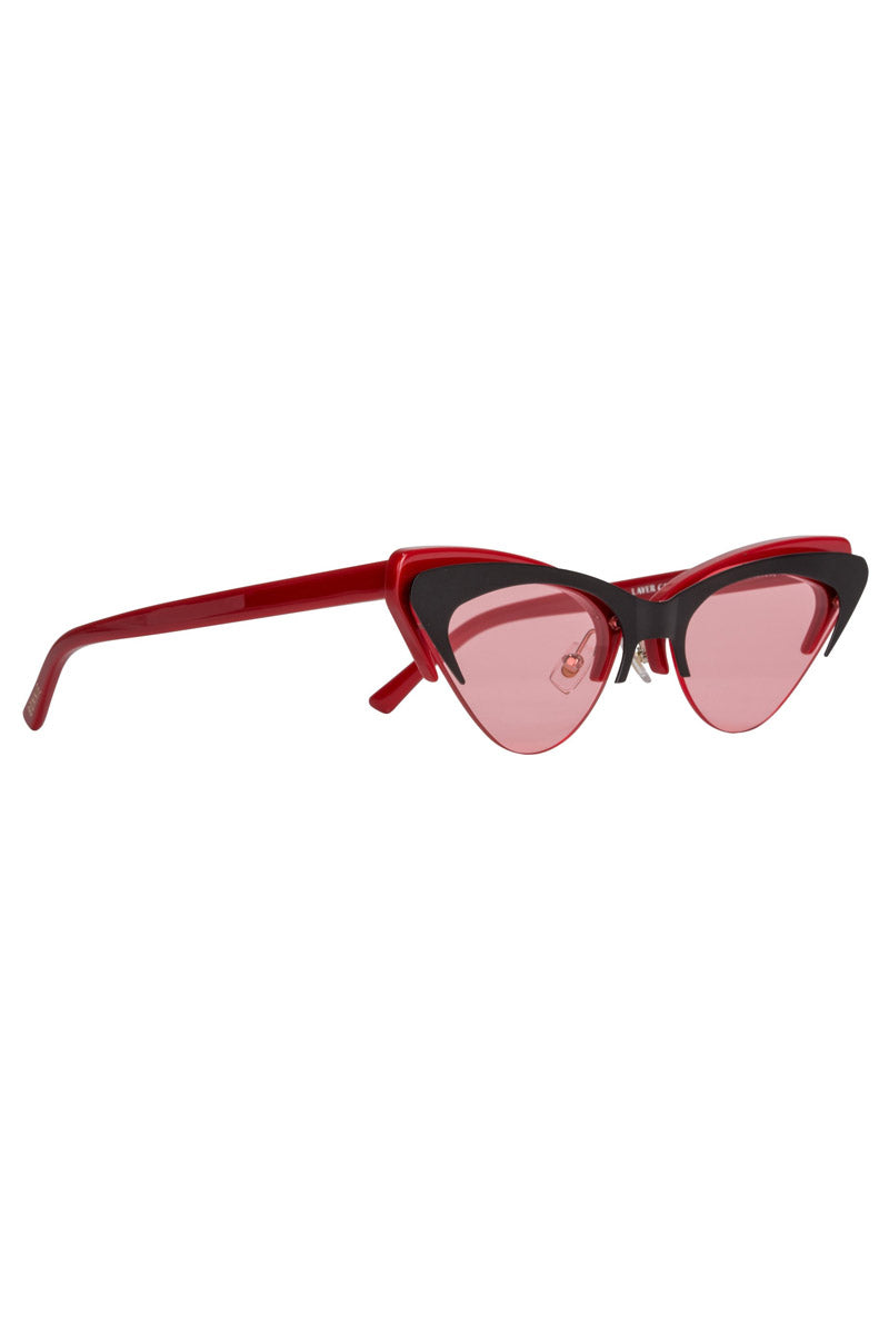 7987d460247 ... BONNIE CLYDE The Layer Cake Sunglasses - Red Velvet - undefined  undefined