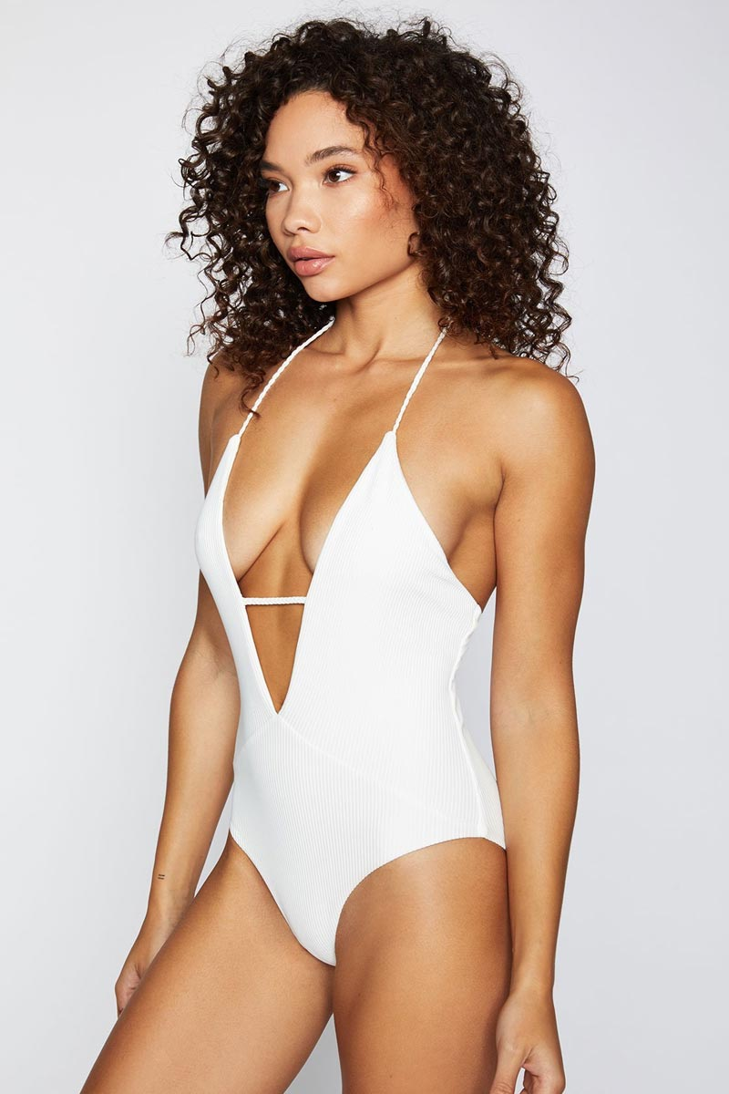 Lily One Piece - White