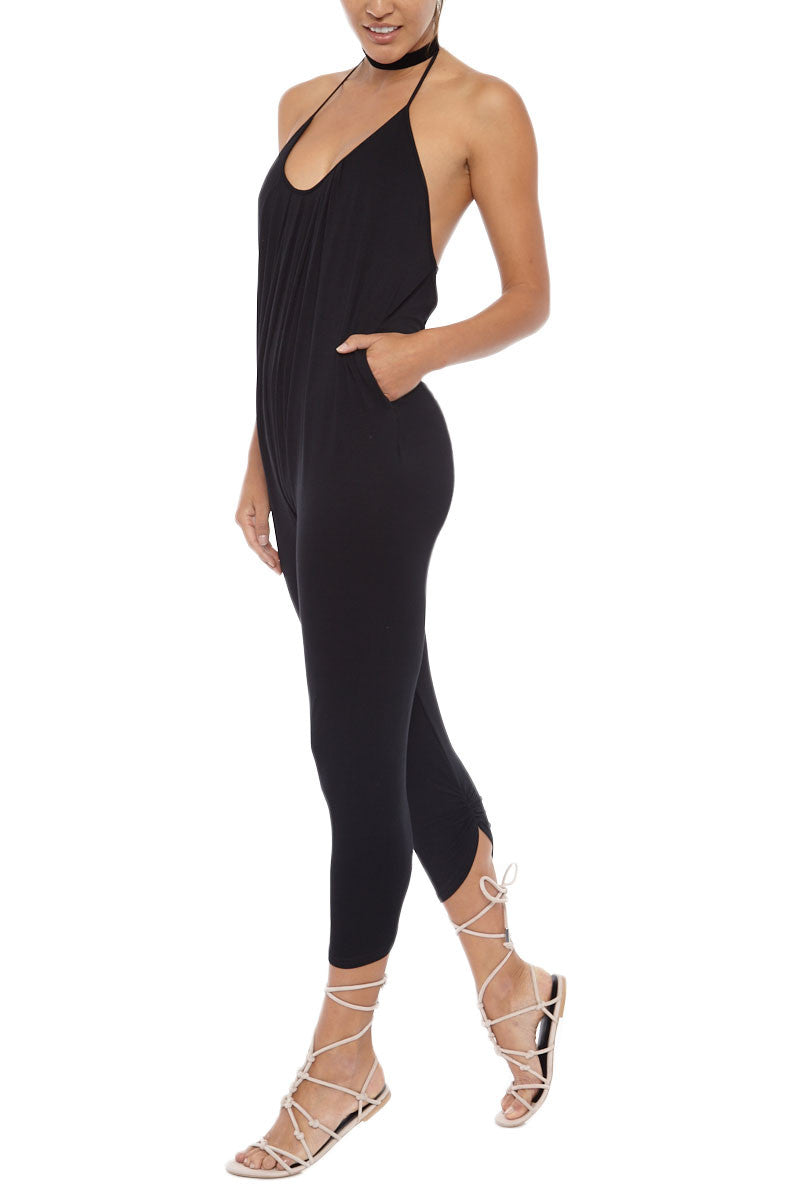 LIRA Everyday Playsuite Cover Up | Black| Lira Everyday Playsuit