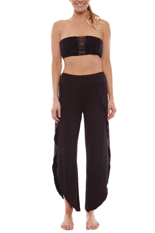 LIRA Modern Love Pant Cover Up | Black| Lira Modern Love Pant