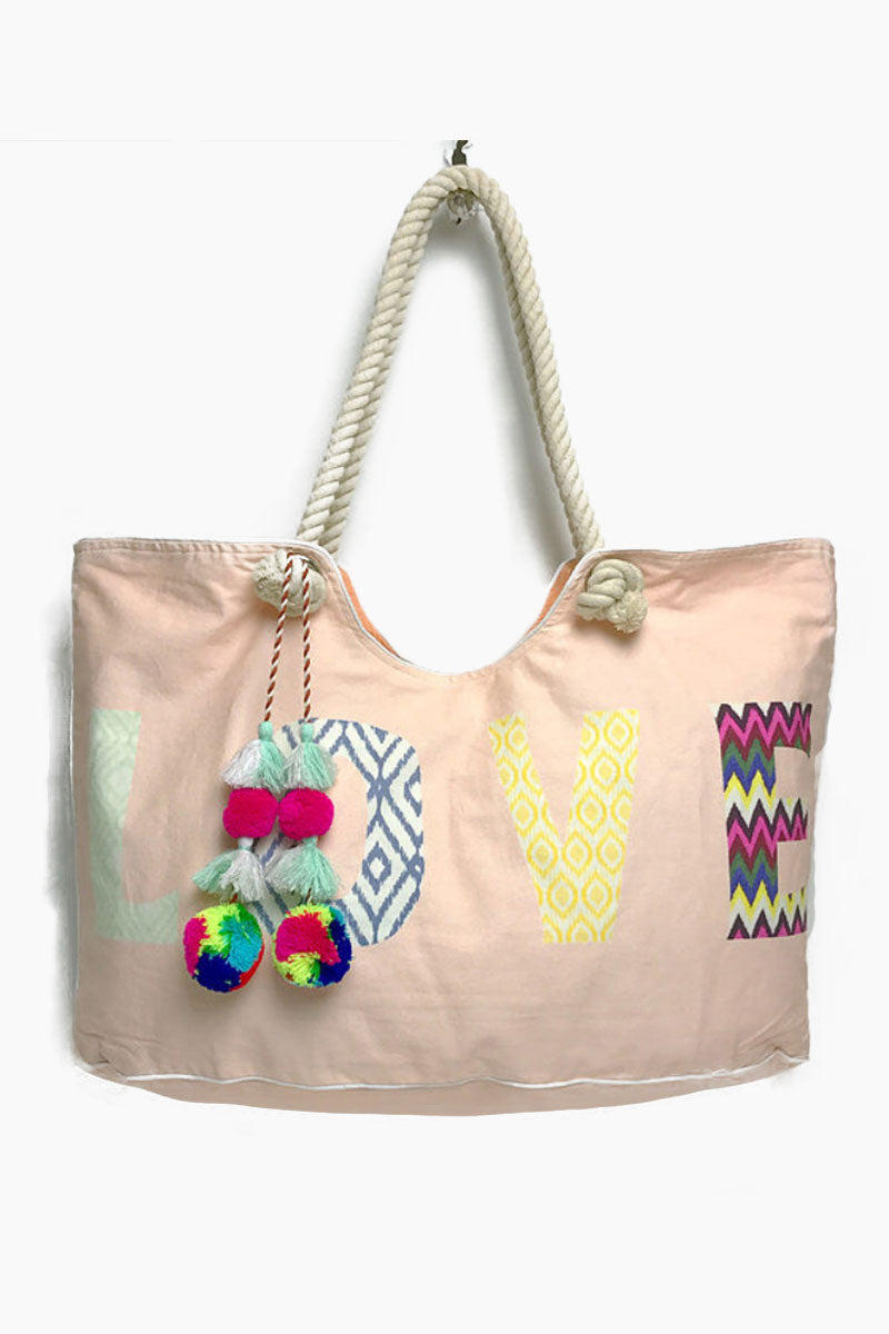 Love Tote - Pink