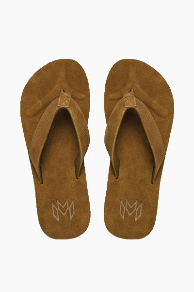 Jack Suede Slides (Men's) - Deep Brown