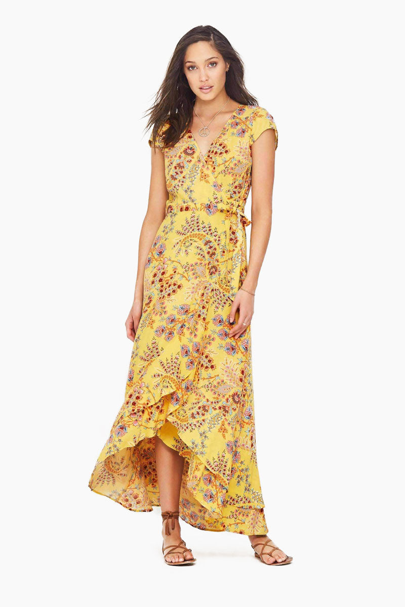 Manipura Maxi Dress - Sunflower