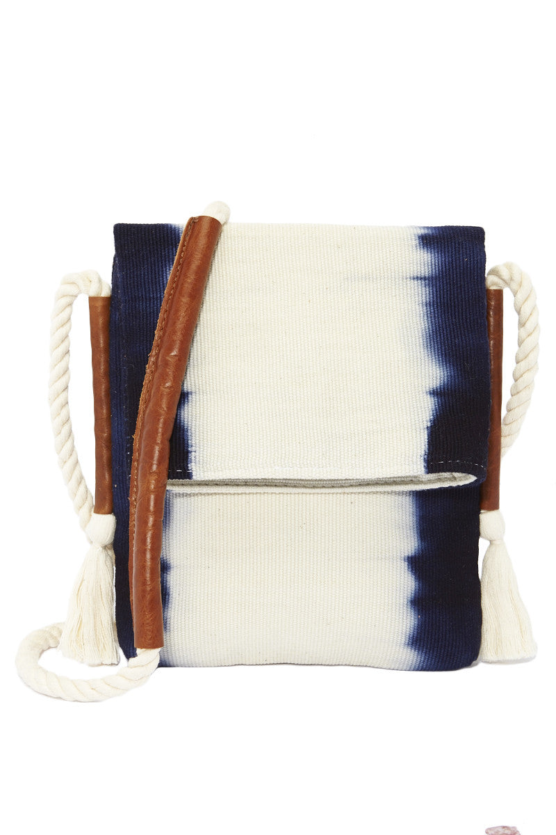 Vivian Crossbody Bag - Ultramarine Stripes