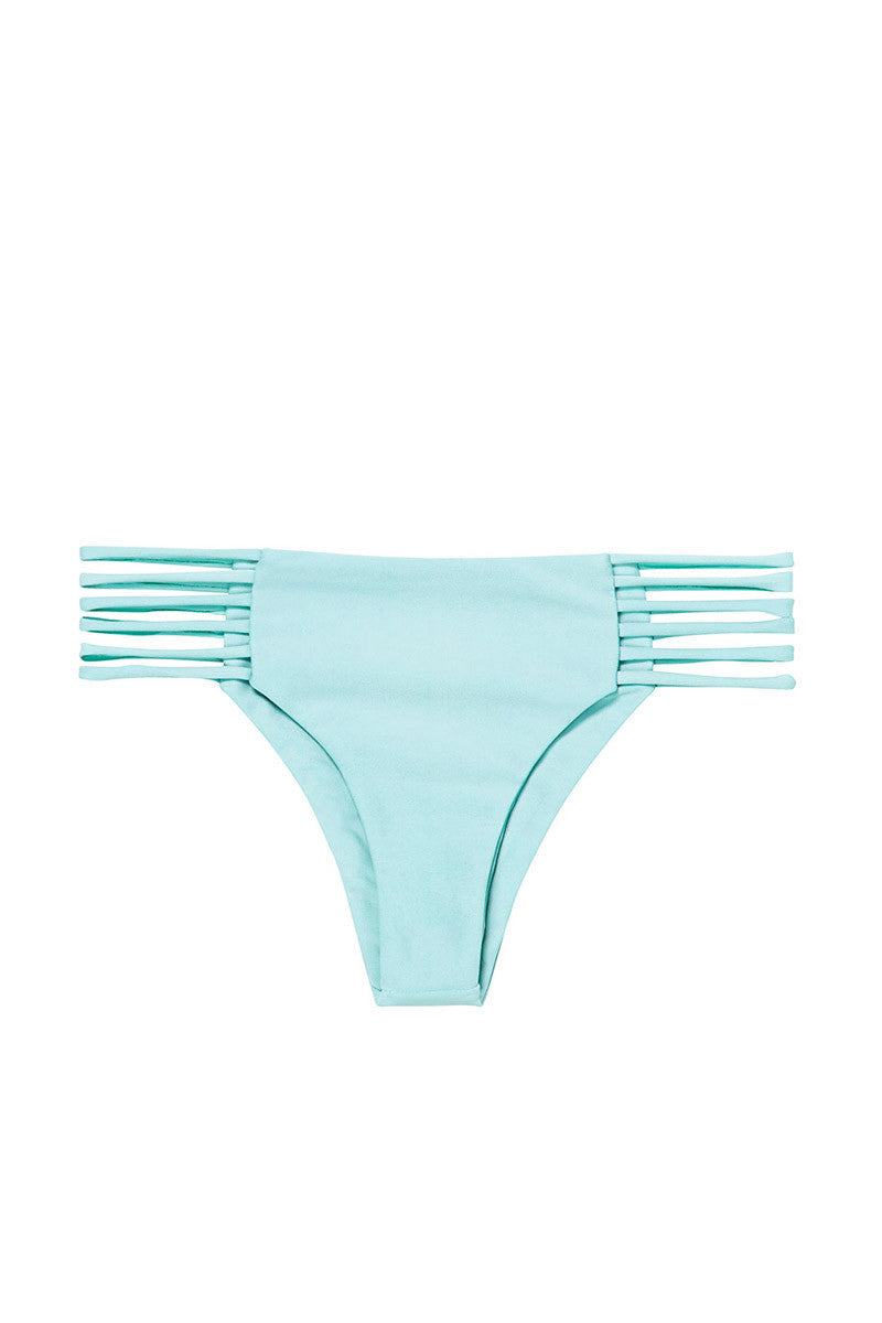Kapalua Stringy Cheeky Bikini Bottom - Capri Blue