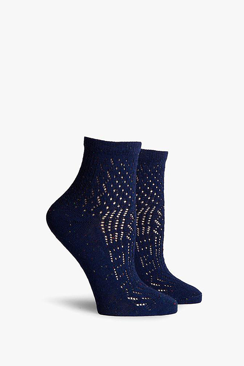 Navy Margot Ankle