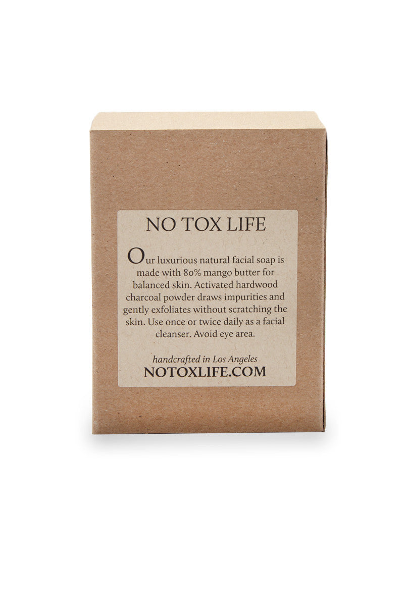 NO TOX LIFE Normal Charcoal Detox Facial Bar Beauty | No Tox Life Normal Charcoal Detox Facial Bar