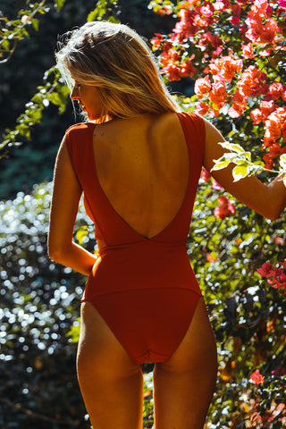OYE SWIMWEAR Chiara One Piece One Piece | Red| OYE Chiara One Piece