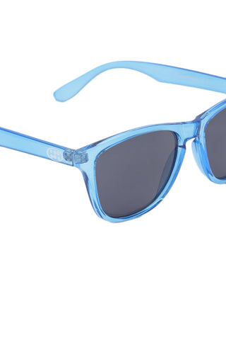 SURREAL SUNGLASSES Classic Sunglasses Accessories | Transparent Blue| Surreal Classic Sunglasses