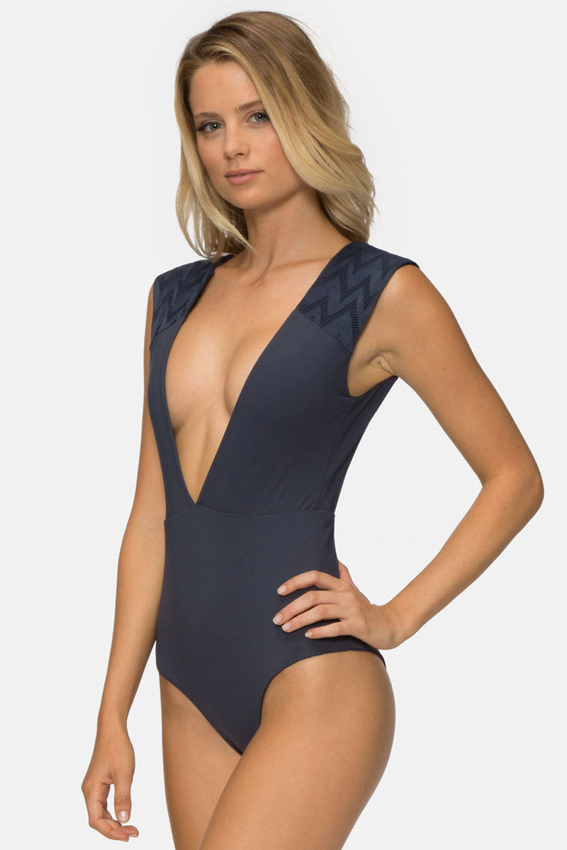 Eden One Piece Swimsuit - Ombre Blue