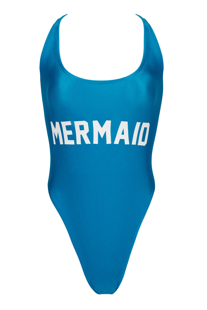 PRIVATE PARTY Mermaid One Piece one piece | Blue and White| private party mermaid