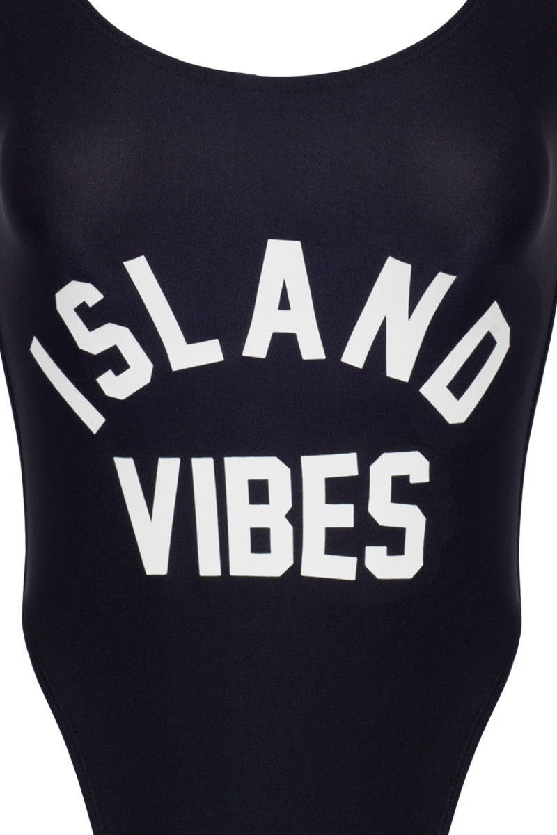 PRIVATE PARTY Island Vibes One Piece one piece | black and white| private party island vibes