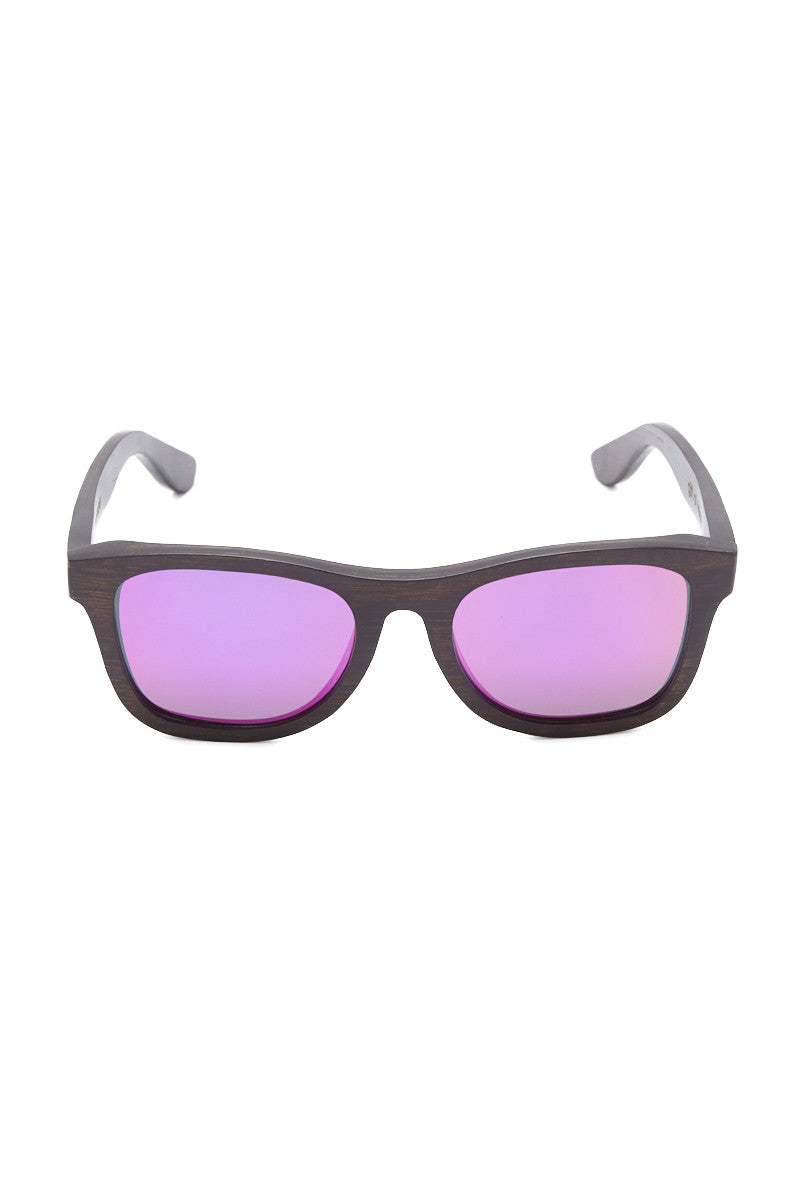 Monroe Sunglasses - Brown/Pink
