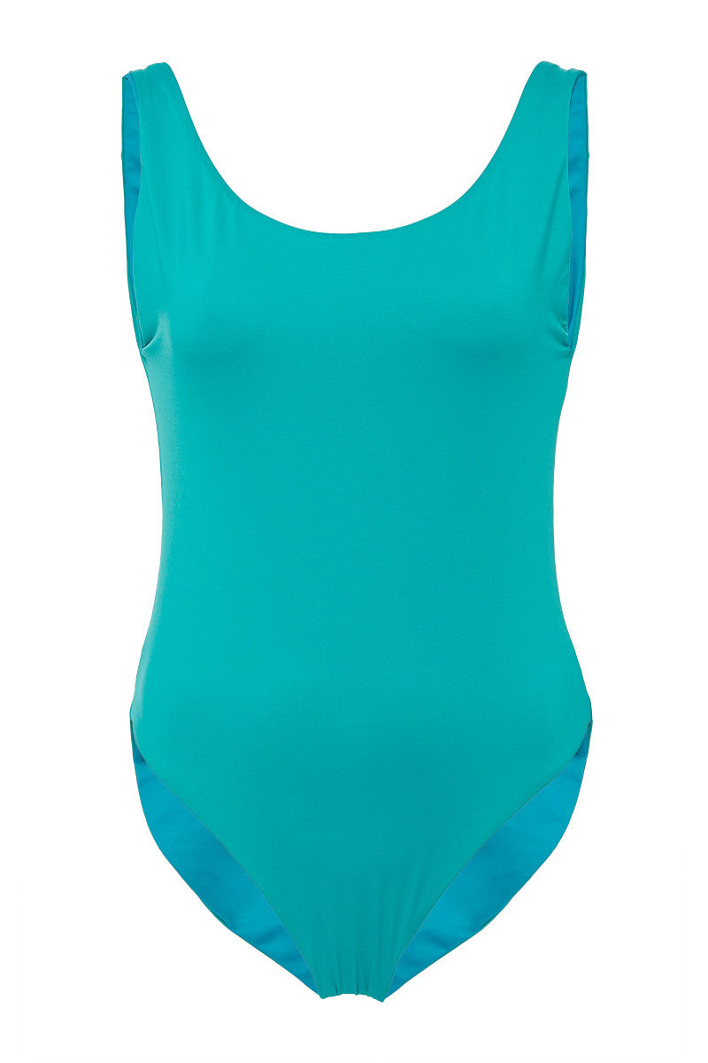 PAOLITA Reversible Azar One Piece One Piece | Reversible Green / Turquoise|