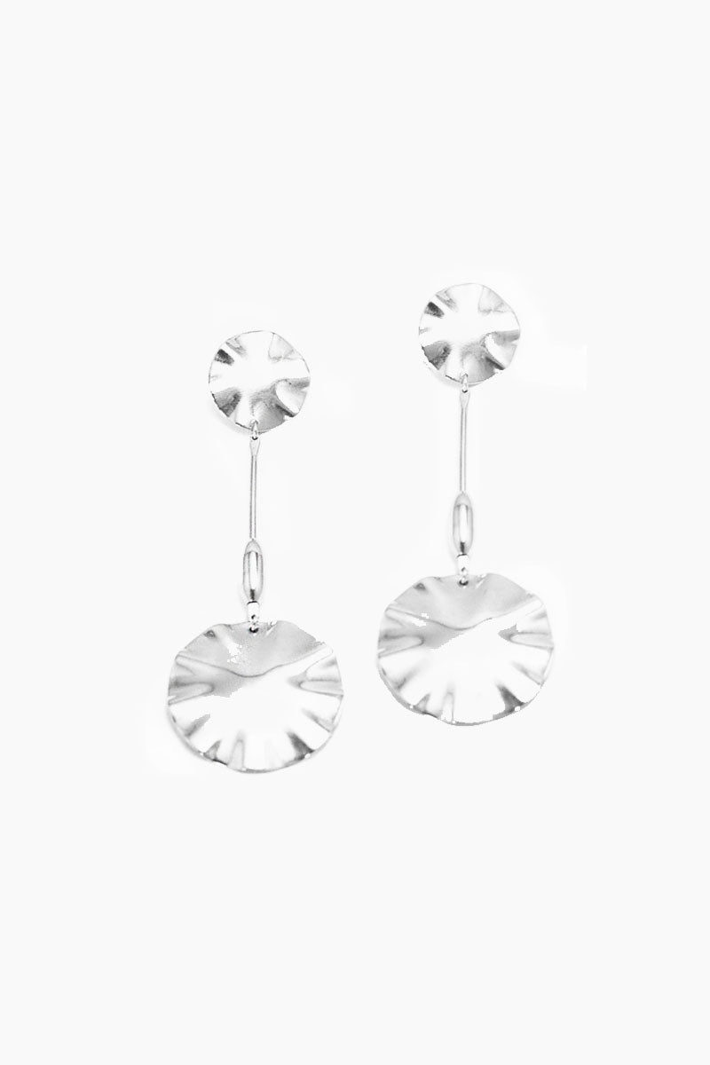 Parasol Earrings - Silver