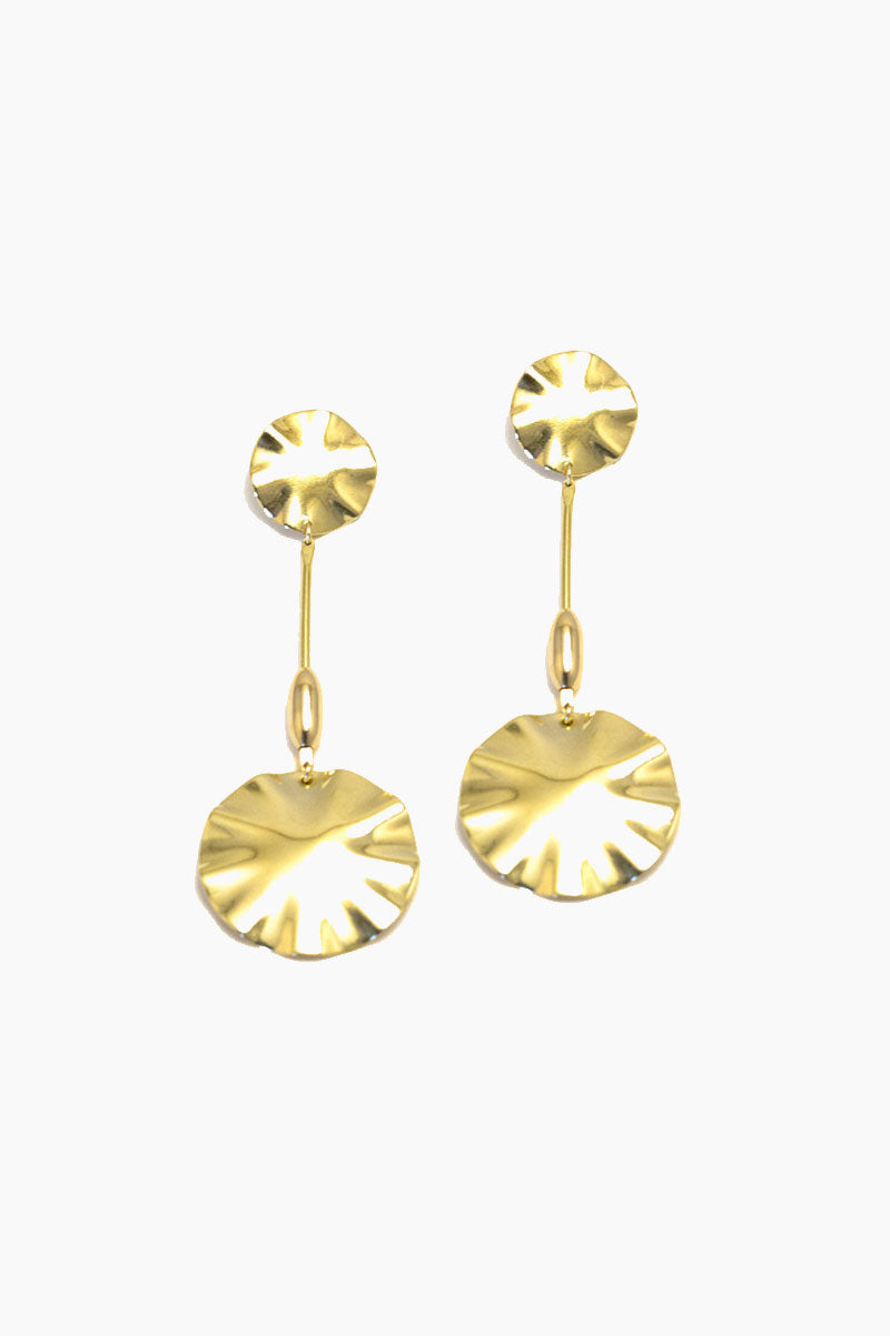 Parasol Earrings - Gold