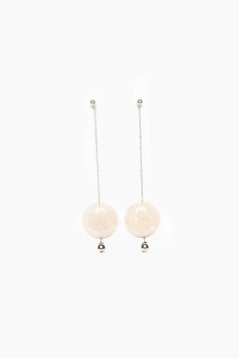 Pendulum Duster Earrings - Gold Ivory