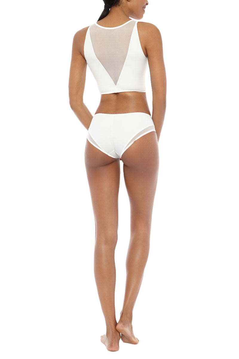 PIXIE WON'T PLAY Swim Top bikini top | Champagne| Pixie Wont Play Bikini Swim Top