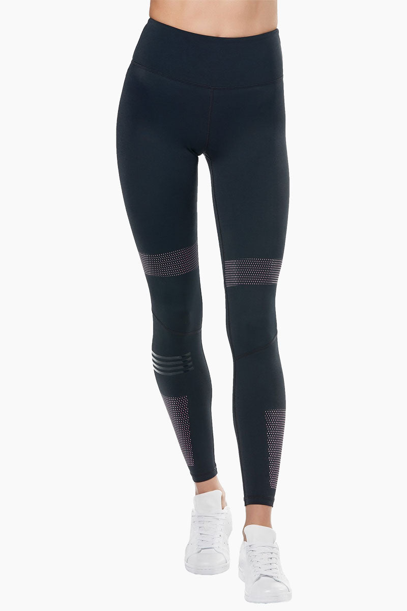 Polly High Waist Leggings - Blue Graphite