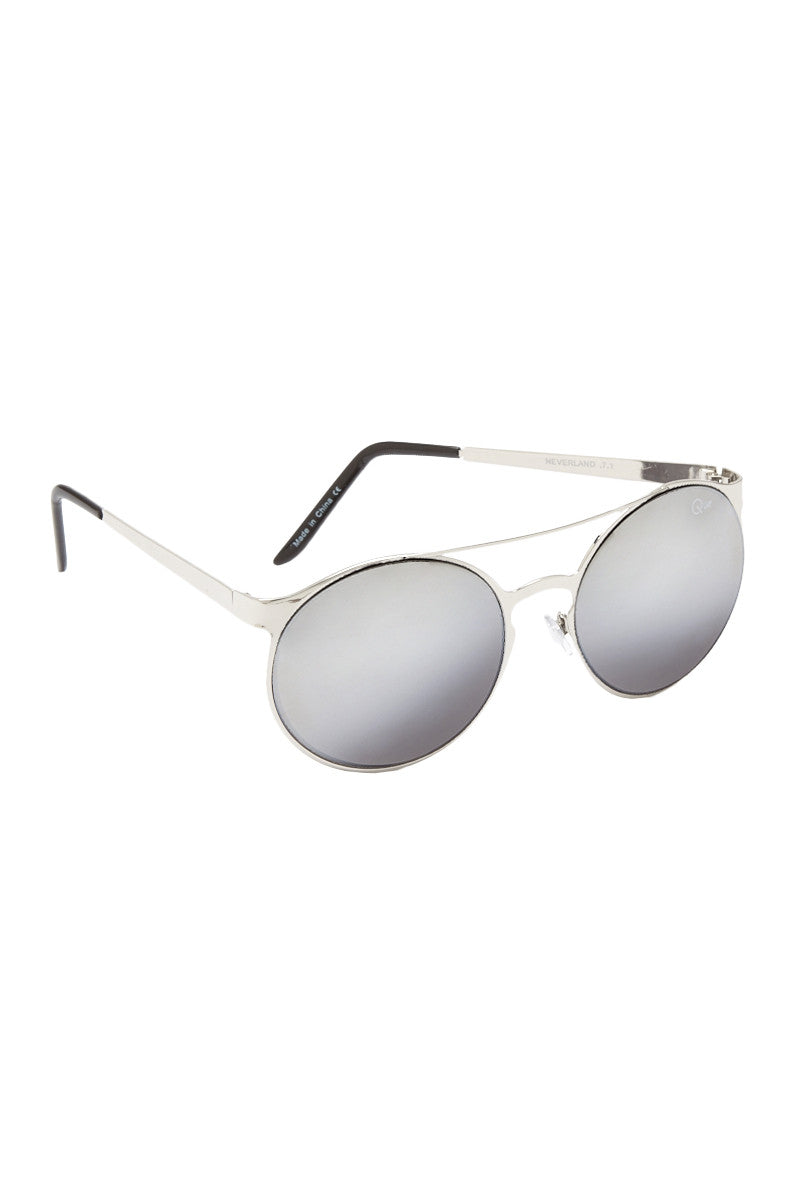 QUAY Neverland Sunglasses Accessories | Silver| Quay Neverland