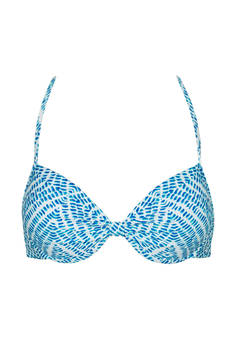 RAISINS Strappy Layla Underwire Top Bikini Top | Marine Blue| Raisins Strappy Layla Underwire Bikini Top