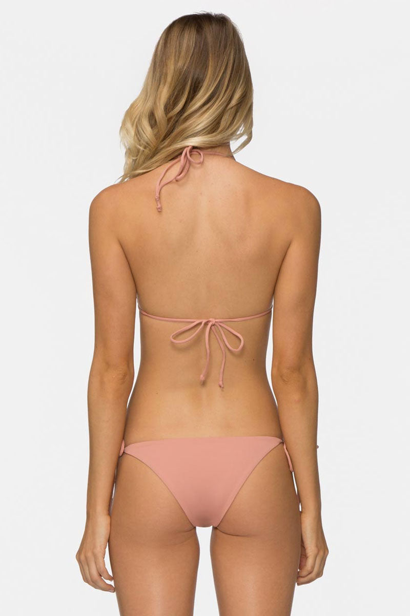 Jax Tie Side Bikini Bottom - Rose Pink Dawn