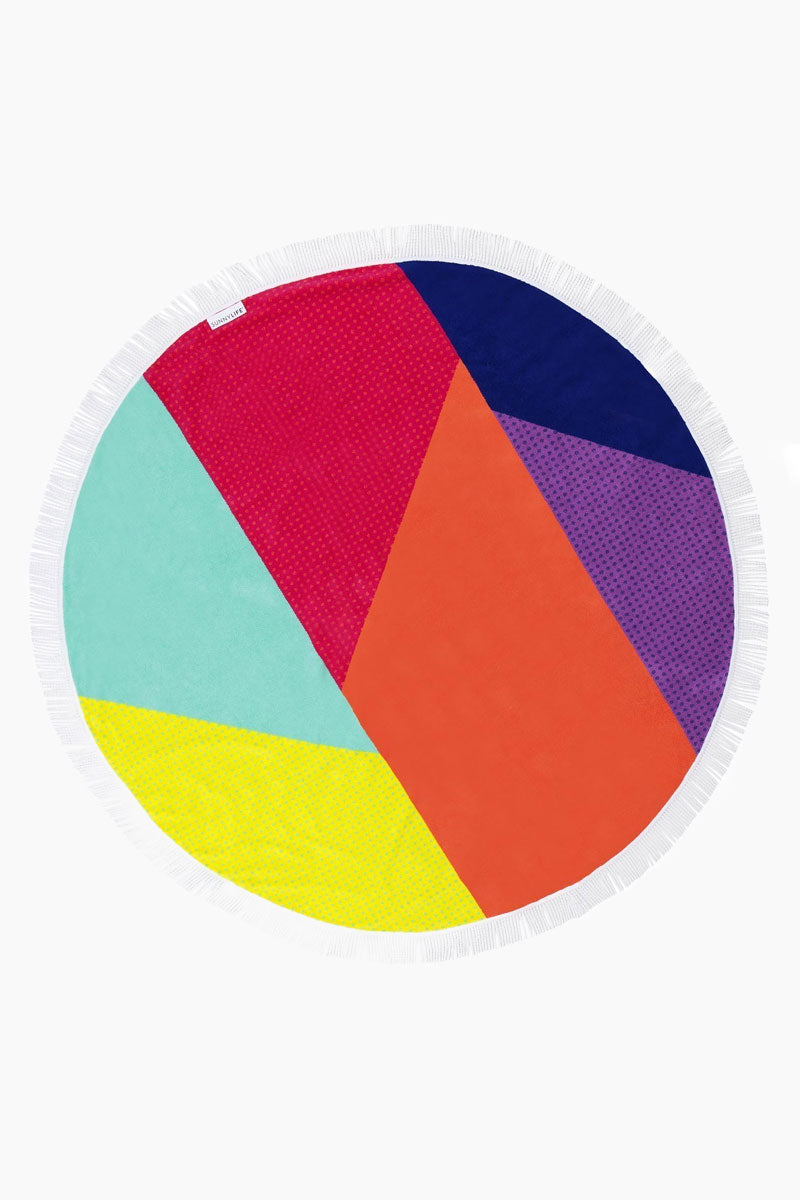 Round Beach Towel - Hulule