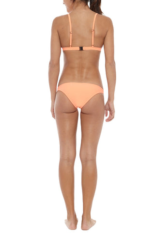 RUESS Pacific Sunset Top Bikini Top | Sunset Coral| Ruess Pacific Sunset Top