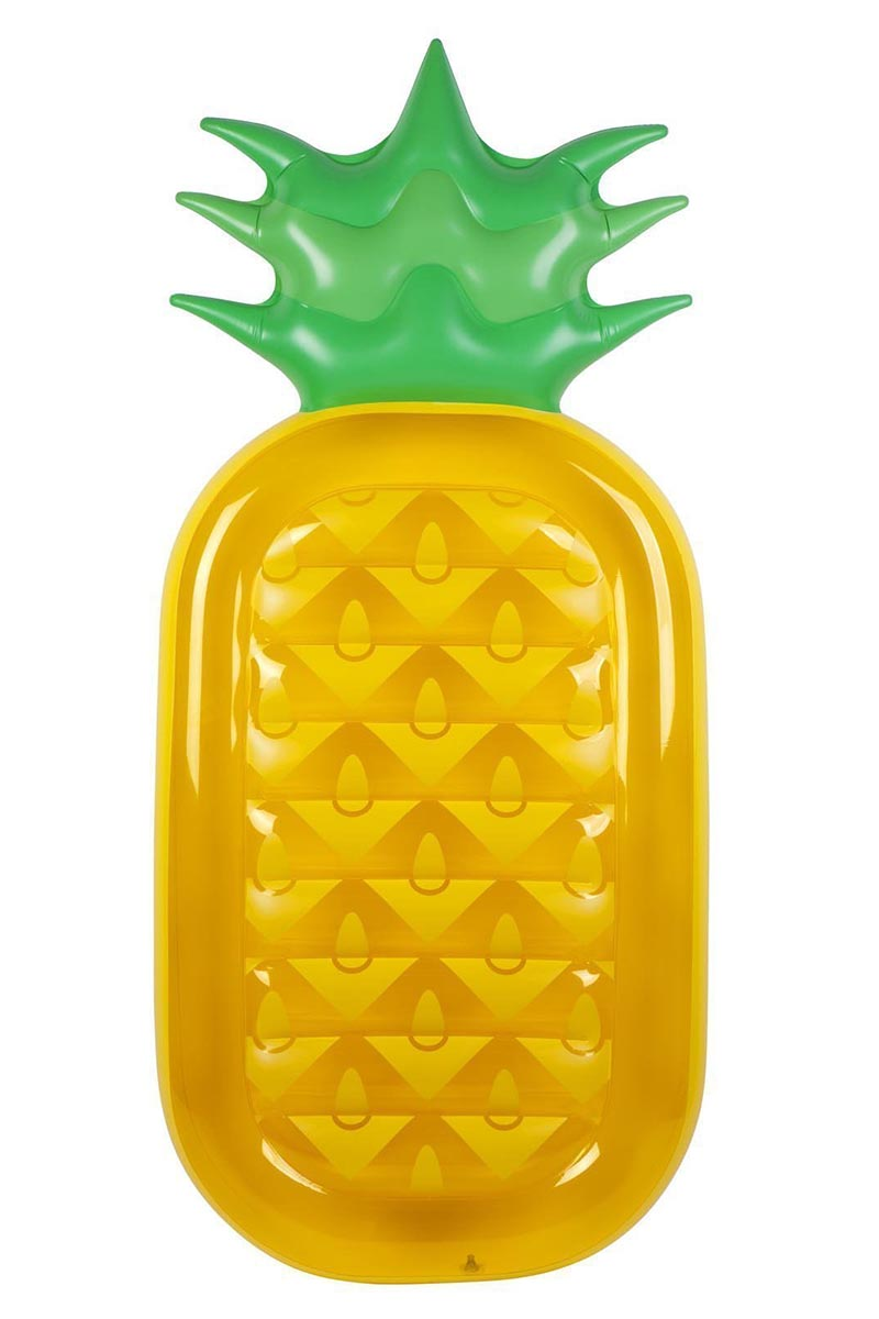 Lie-On Float - Gold Pineapple