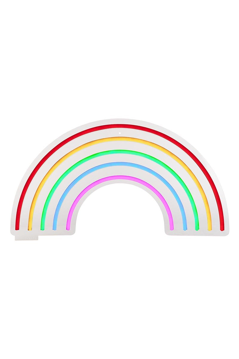 Rainbow Neon LED Wall Small